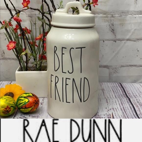 Rae Dunn BEST FRIEND Canister